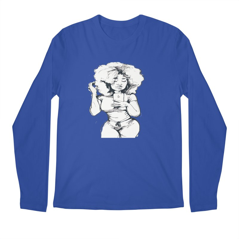 Lil Debbie Men's Regular Longsleeve T-Shirt by Chicago Music's Apparel and Retail Shop
