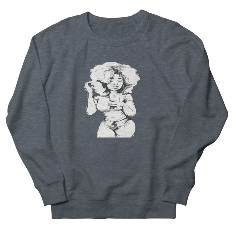 Lil Debbie Men's French Terry Sweatshirt by Chicago Music's Apparel and Retail Shop