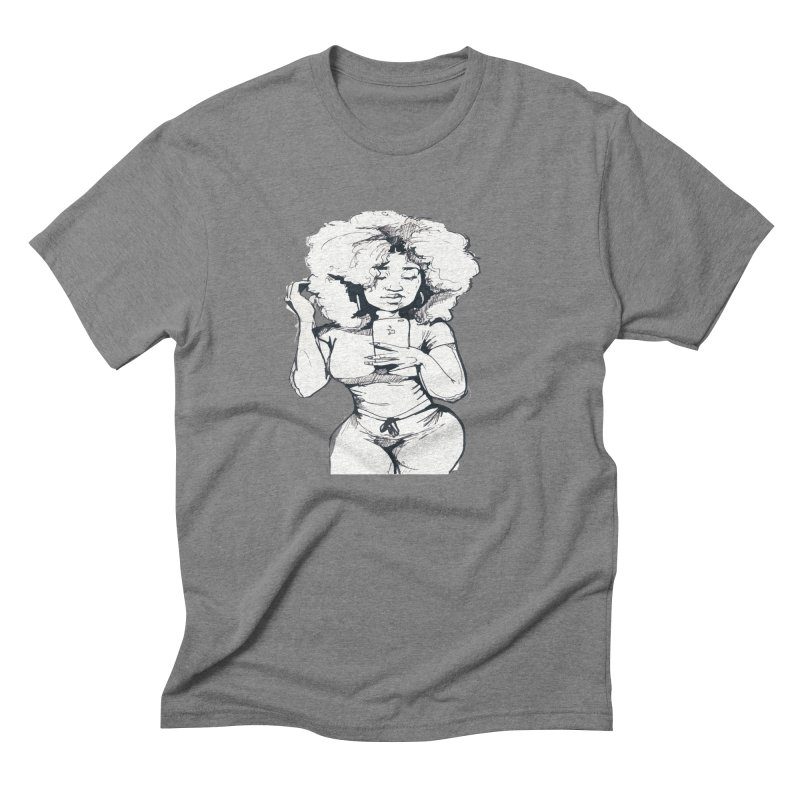 Lil Debbie Men's Triblend T-Shirt by Chicago Music's Apparel and Retail Shop