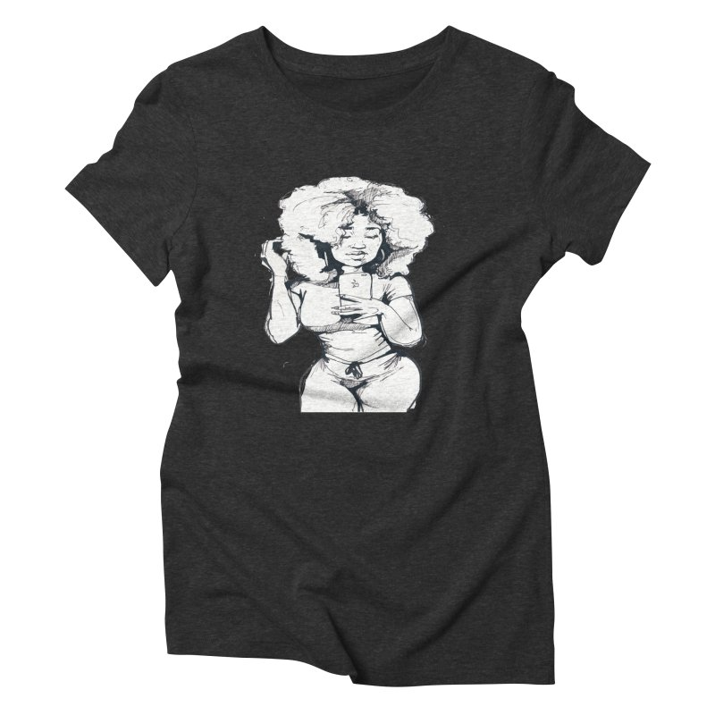 Lil Debbie Women's Triblend T-Shirt by Chicago Music's Apparel and Retail Shop