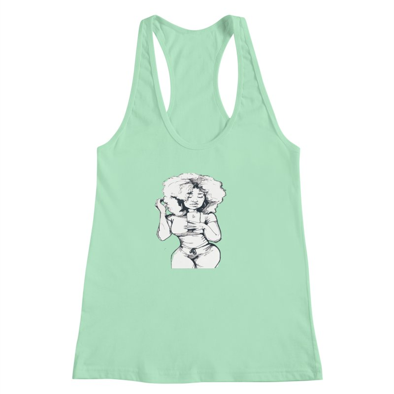 Lil Debbie Women's Racerback Tank by Chicago Music's Apparel and Retail Shop