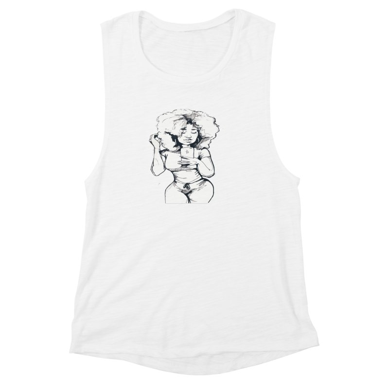 Lil Debbie Women's Muscle Tank by Chicago Music's Apparel and Retail Shop