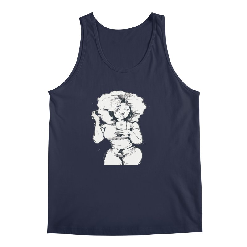 Lil Debbie Men's Regular Tank by Chicago Music's Apparel and Retail Shop