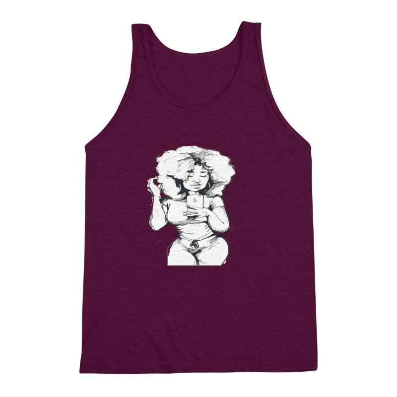 Lil Debbie Men's Triblend Tank by Chicago Music's Apparel and Retail Shop