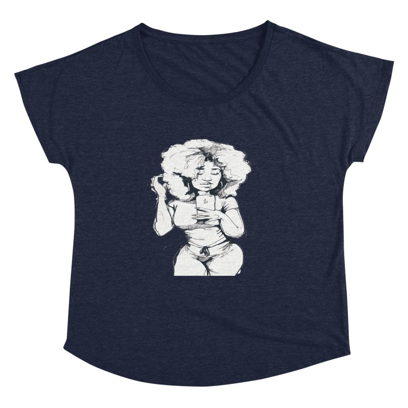 Lil Debbie Women's Scoop Neck by Chicago Music's Apparel and Retail Shop