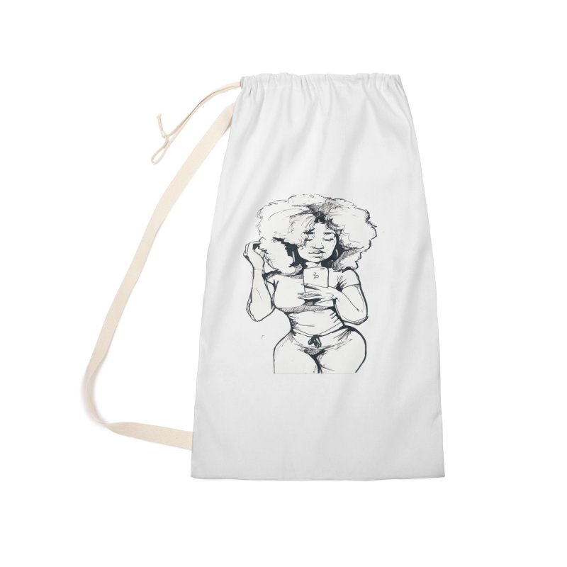 Lil Debbie Accessories Laundry Bag Bag by Chicago Music's Apparel and Retail Shop