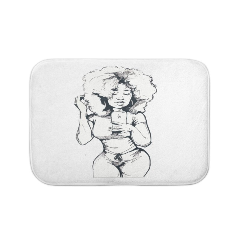 Lil Debbie Home Bath Mat by Chicago Music's Apparel and Retail Shop