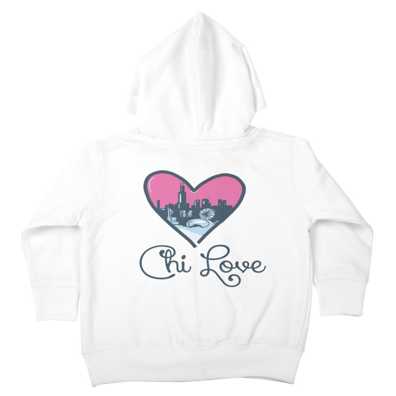Chi Love Kids Toddler Zip-Up Hoody by Chicago Music's Apparel and Retail Shop