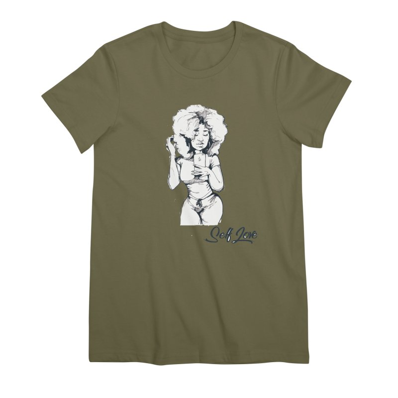 Lil Debbie Self Love Women's Premium T-Shirt by Chicago Music's Apparel and Retail Shop