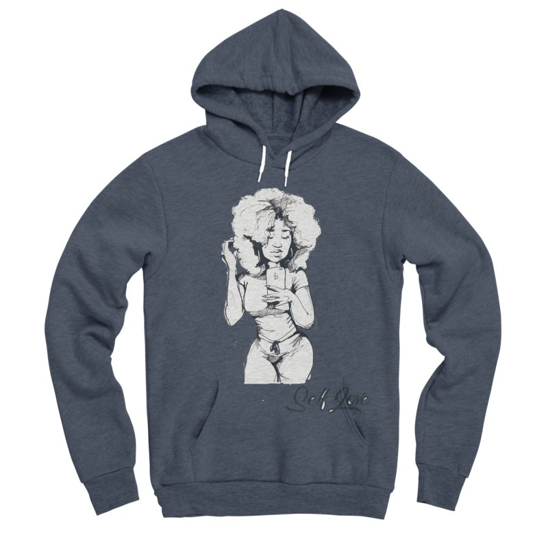 Lil Debbie Self Love Men's Sponge Fleece Pullover Hoody by Chicago Music's Apparel and Retail Shop