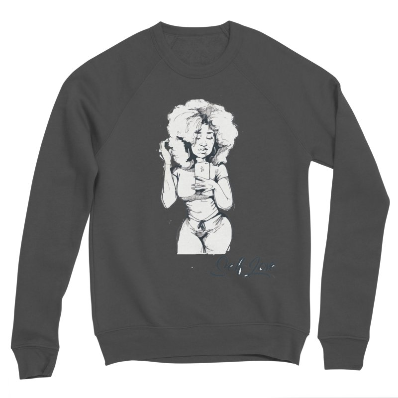 Lil Debbie Self Love Men's Sponge Fleece Sweatshirt by Chicago Music's Apparel and Retail Shop