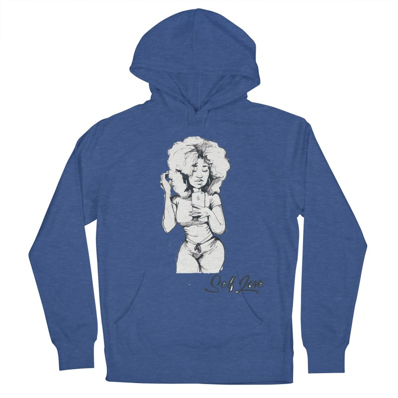 Lil Debbie Self Love Women's French Terry Pullover Hoody by Chicago Music's Apparel and Retail Shop