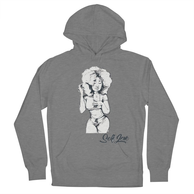 Lil Debbie Self Love Women's Pullover Hoody by Chicago Music's Apparel and Retail Shop