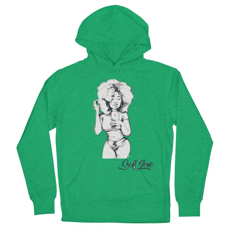 Lil Debbie Self Love Men's French Terry Pullover Hoody by Chicago Music's Apparel and Retail Shop
