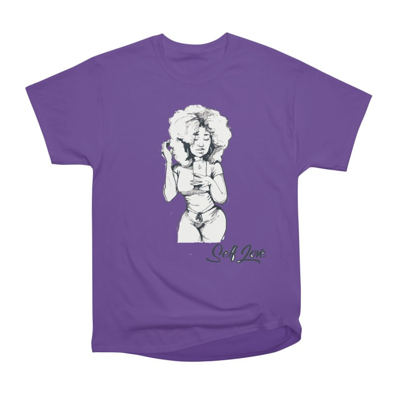 Lil Debbie Self Love Men's Heavyweight T-Shirt by Chicago Music's Apparel and Retail Shop