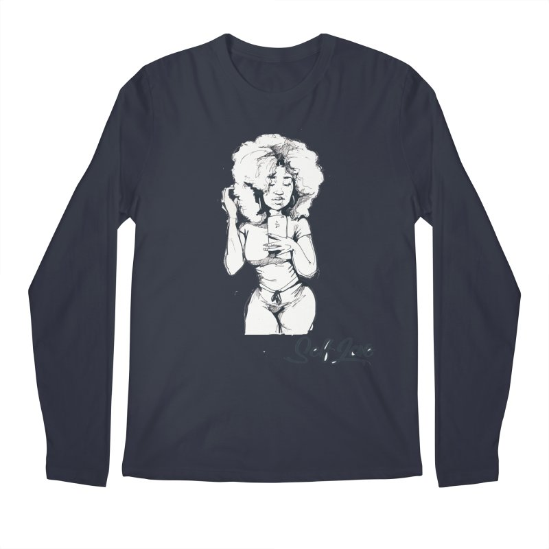 Lil Debbie Self Love Men's Regular Longsleeve T-Shirt by Chicago Music's Apparel and Retail Shop