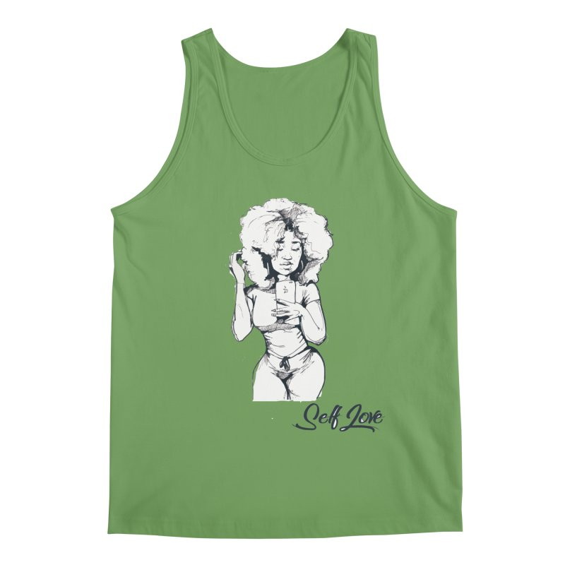 Lil Debbie Self Love Men's Tank by Chicago Music's Apparel and Retail Shop