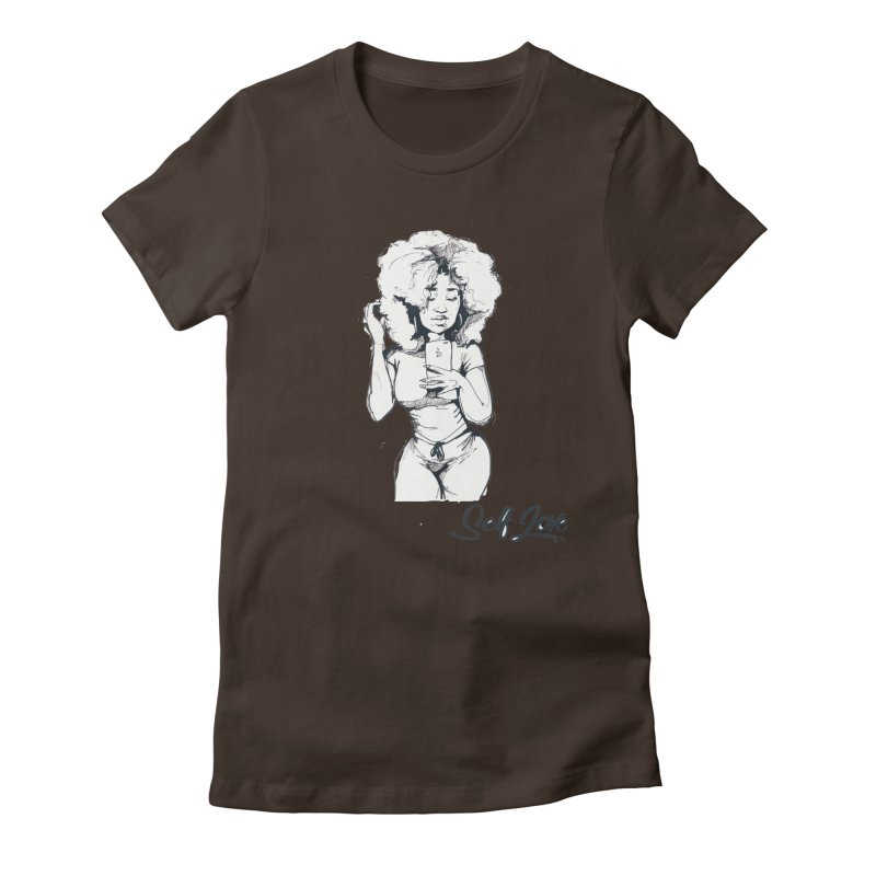 Lil Debbie Self Love Women's Fitted T-Shirt by Chicago Music's Apparel and Retail Shop