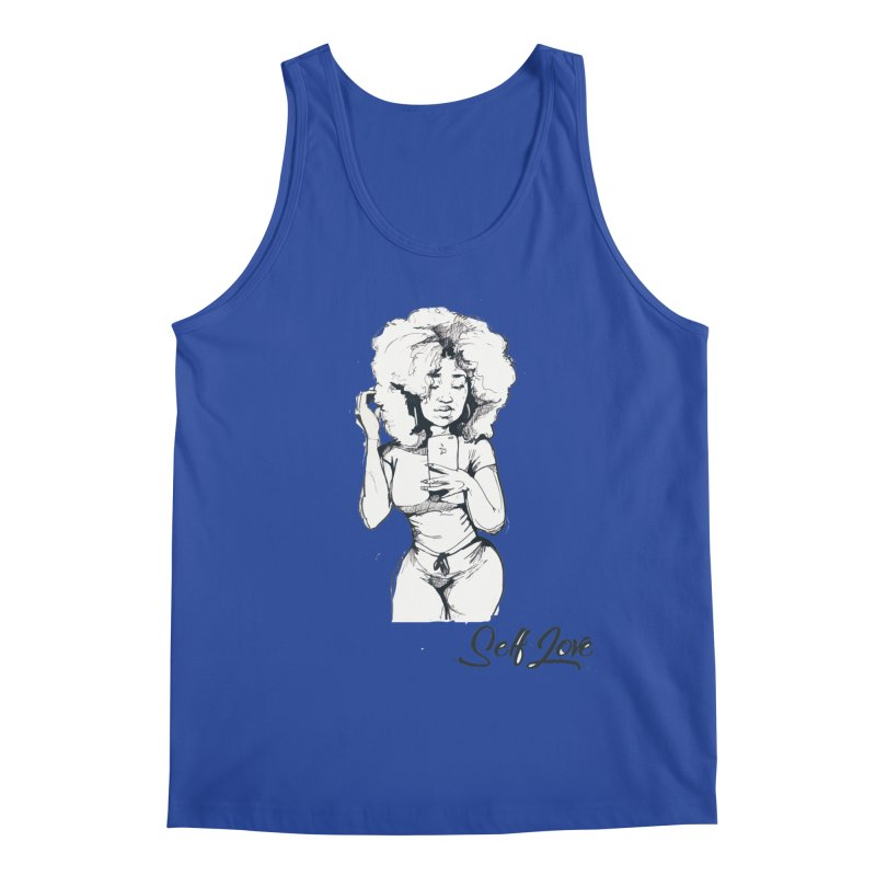Lil Debbie Self Love Men's Regular Tank by Chicago Music's Apparel and Retail Shop