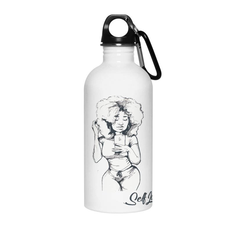 Lil Debbie Self Love Accessories Water Bottle by Chicago Music's Apparel and Retail Shop