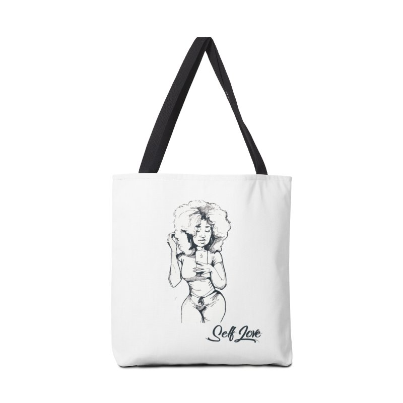 Lil Debbie Self Love Accessories Tote Bag Bag by Chicago Music's Apparel and Retail Shop