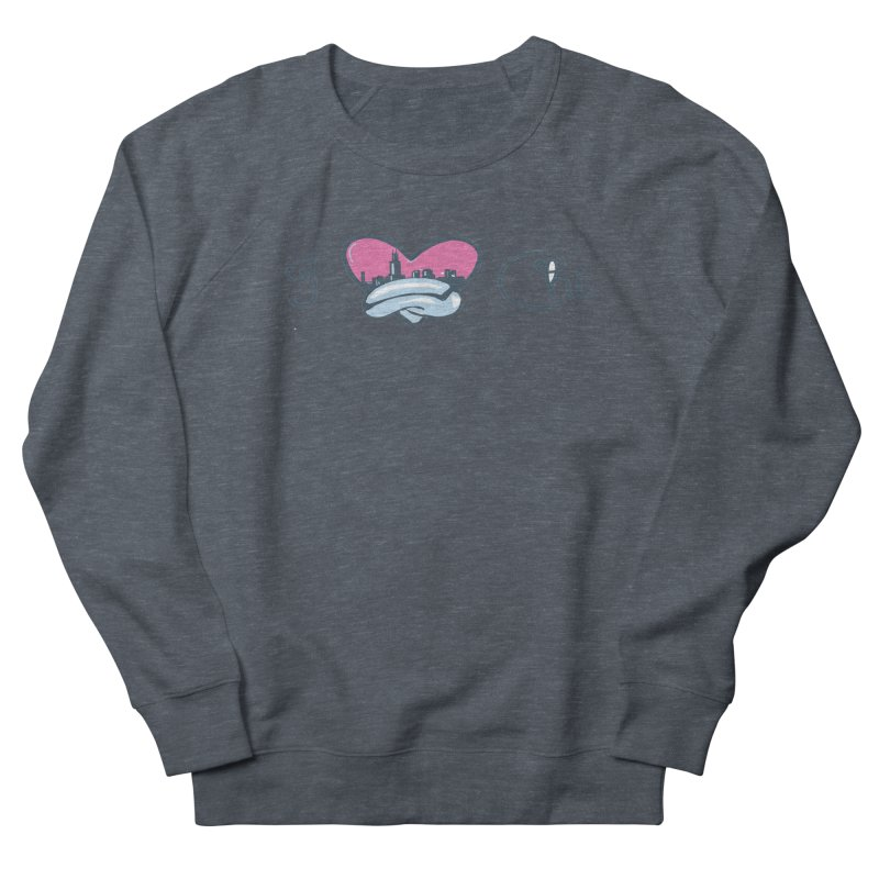 I Love The Chi Men's French Terry Sweatshirt by Chicago Music's Apparel and Retail Shop