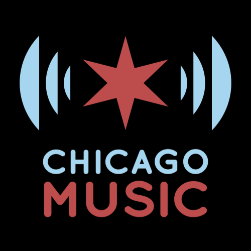 Chicago Music's Apparel and Retail Shop Logo