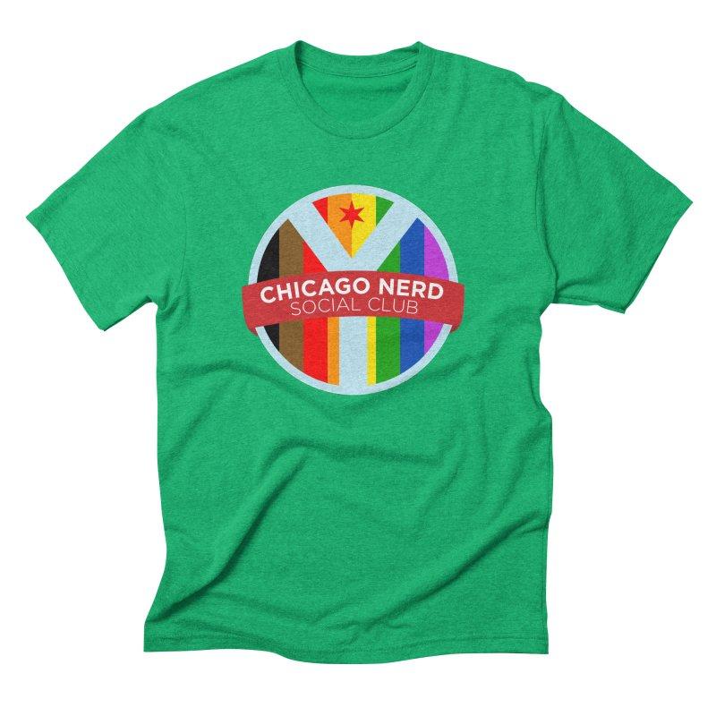 Chicago Nerd Social Club Pride Men's T-Shirt by Chicago Nerd Social Club