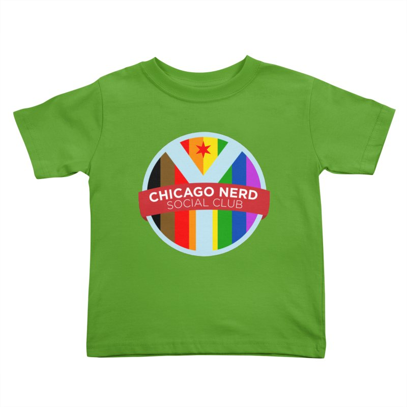 Chicago Nerd Social Club Pride Kids Toddler T-Shirt by Chicago Nerd Social Club