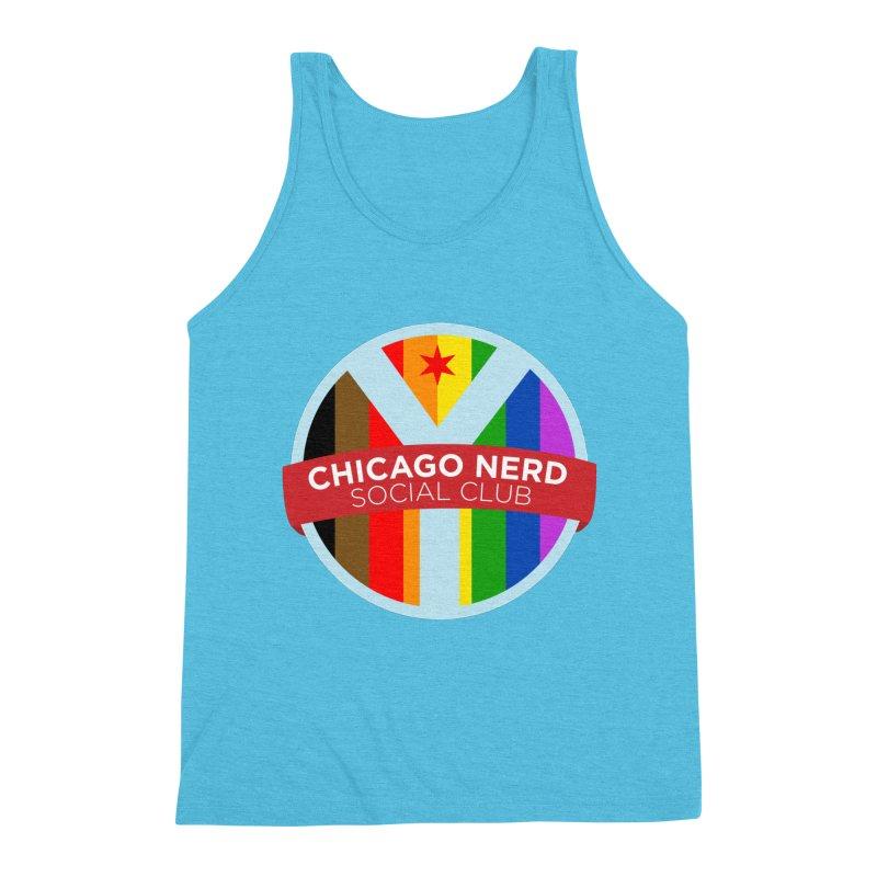 Chicago Nerd Social Club Pride Men's Tank by Chicago Nerd Social Club
