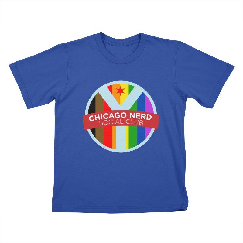 Chicago Nerd Social Club Pride Kids T-Shirt by Chicago Nerd Social Club