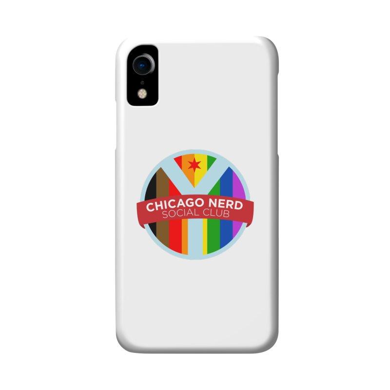 Chicago Nerd Social Club Pride Accessories Phone Case by Chicago Nerd Social Club