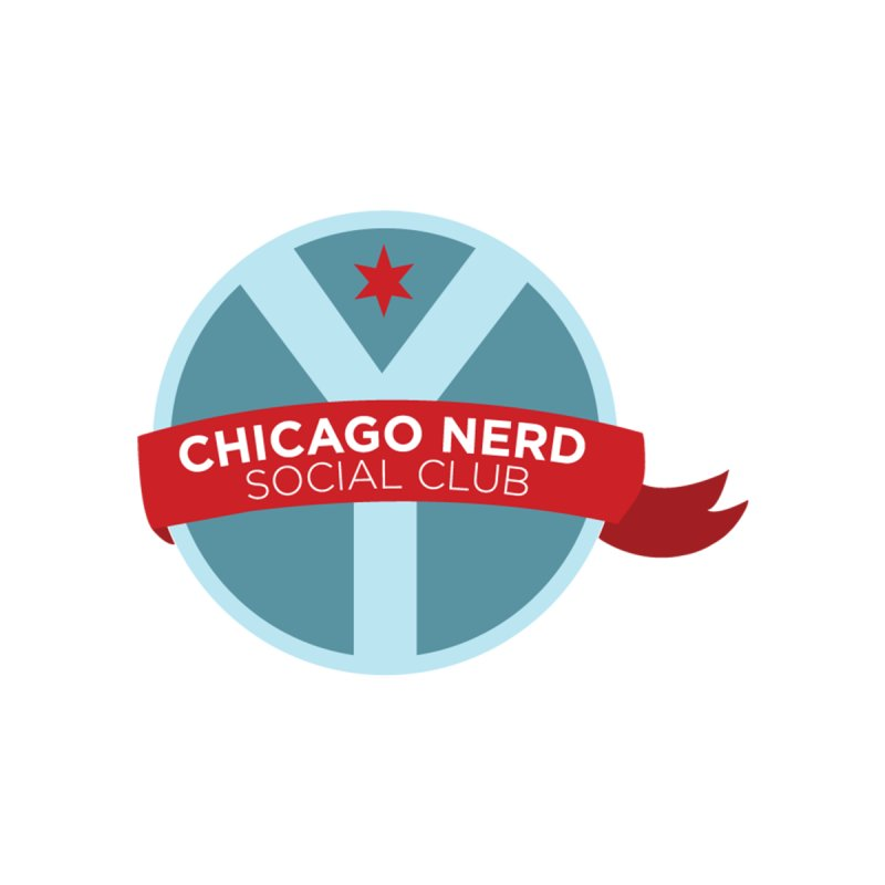 Chicago Nerd Social Club Women's V-Neck by Chicago Nerd Social Club