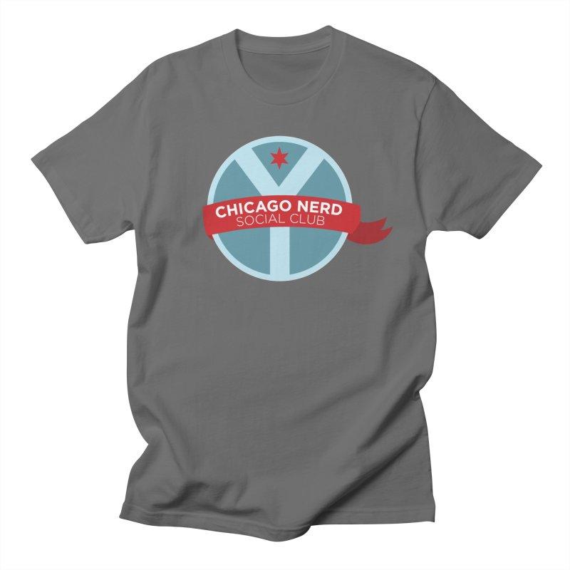 Chicago Nerd Social Club Men's T-Shirt by Chicago Nerd Social Club