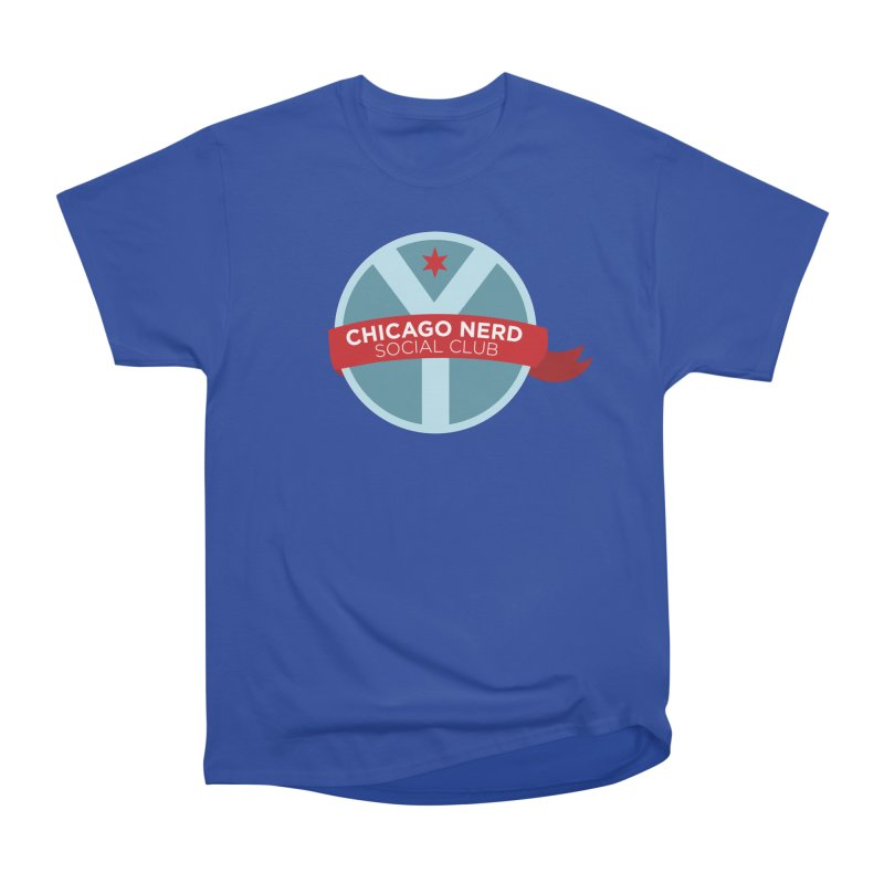 Chicago Nerd Social Club Men's T-Shirt by Chicago Nerd Social Club