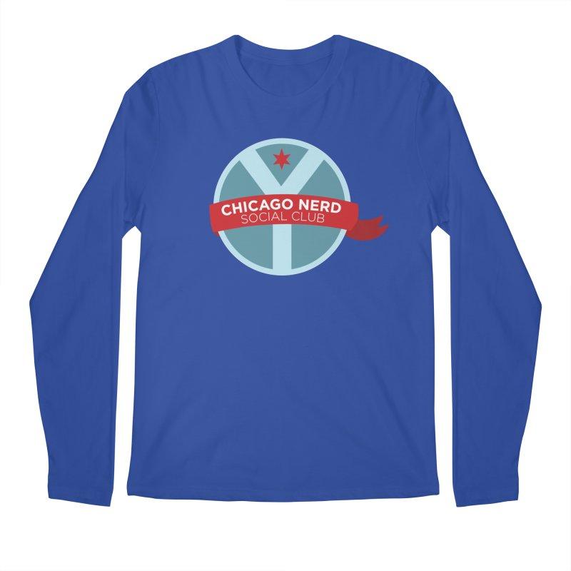 Chicago Nerd Social Club Men's Longsleeve T-Shirt by Chicago Nerd Social Club