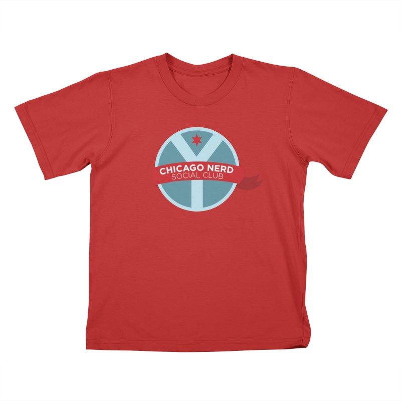 Chicago Nerd Social Club Kids T-Shirt by Chicago Nerd Social Club