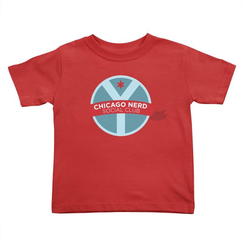Chicago Nerd Social Club Kids Toddler T-Shirt by Chicago Nerd Social Club