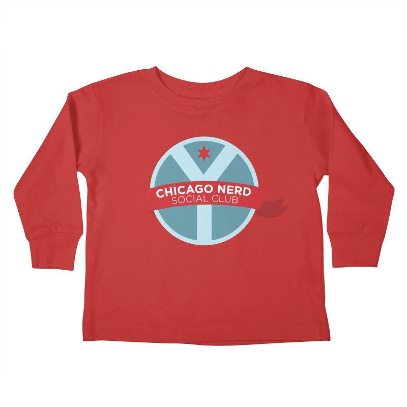 Chicago Nerd Social Club Kids Toddler Longsleeve T-Shirt by Chicago Nerd Social Club