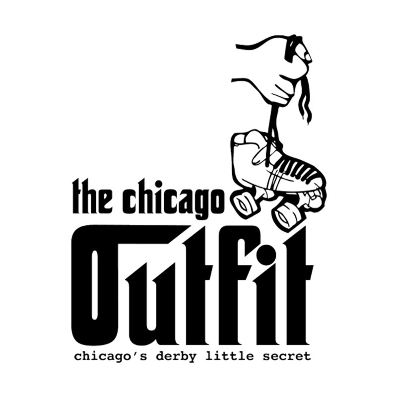 Logo Tee by Chicago Outfit Roller Derby