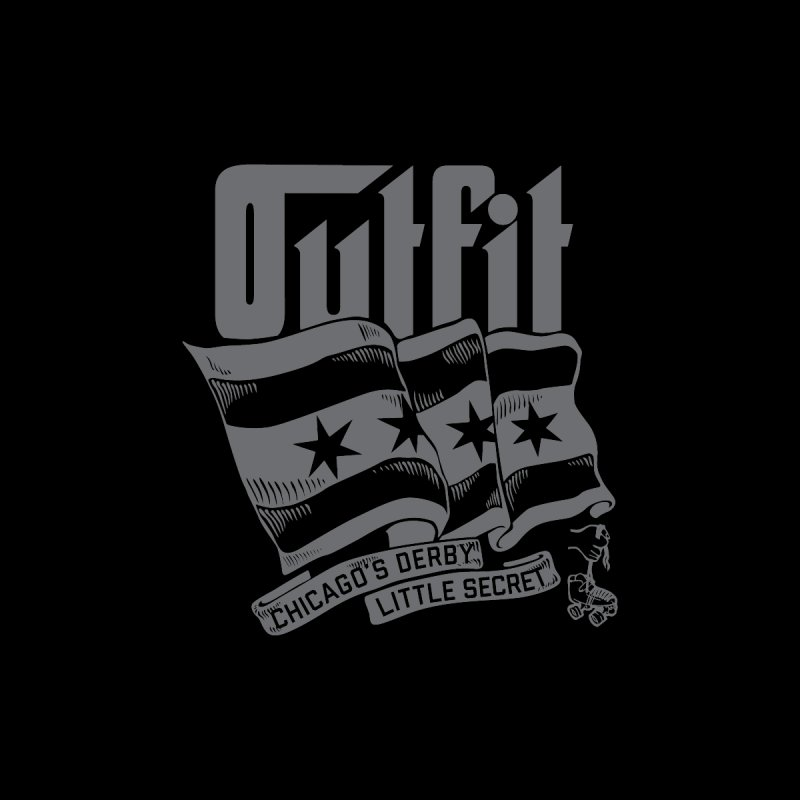 Outfit Flag by Chicago Outfit Roller Derby