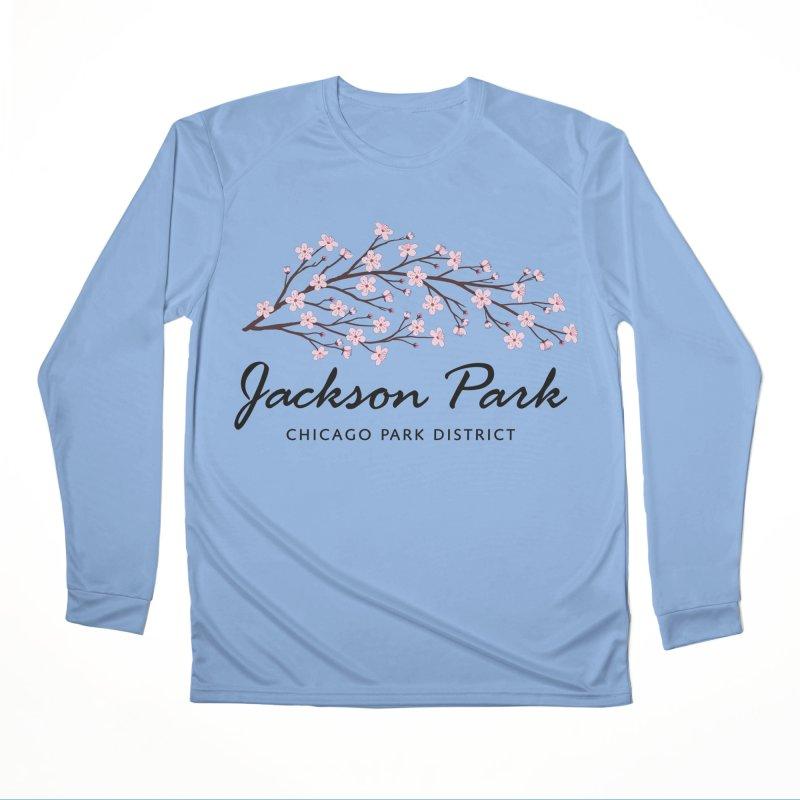 Jackson Park Cherry Blossoms Men's Performance Longsleeve T-Shirt by chicago park district's Artist Shop