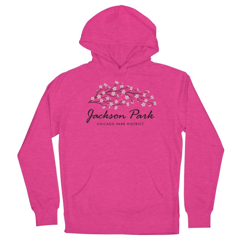 Jackson Park Cherry Blossoms Men's French Terry Pullover Hoody by chicago park district's Artist Shop