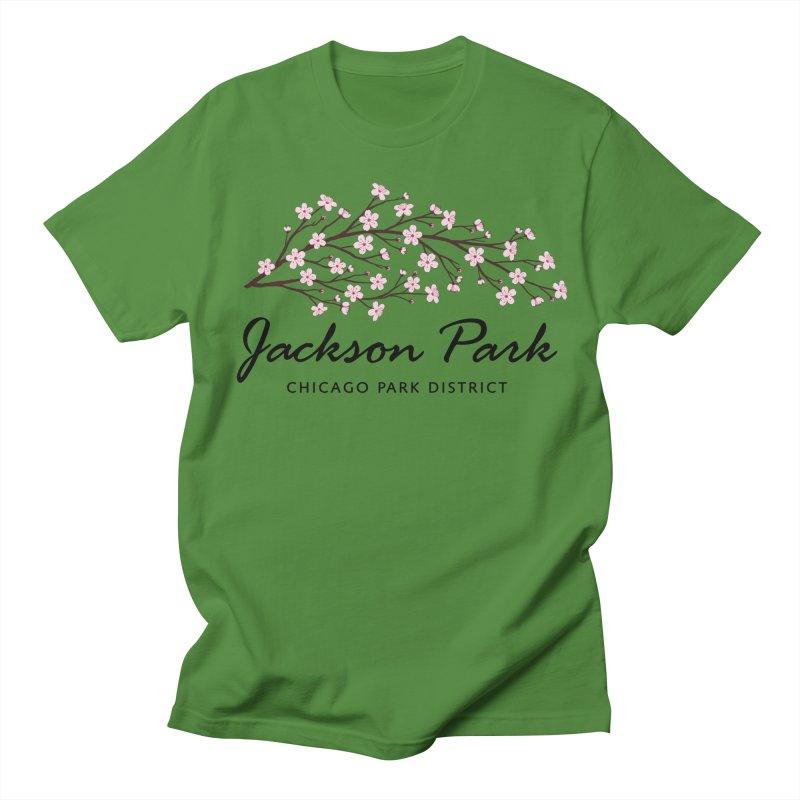 Jackson Park Cherry Blossoms Women's Regular Unisex T-Shirt by chicago park district's Artist Shop