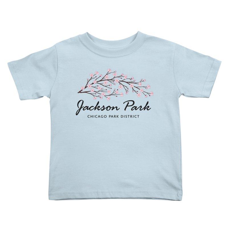 Jackson Park Cherry Blossoms Kids Toddler T-Shirt by chicago park district's Artist Shop