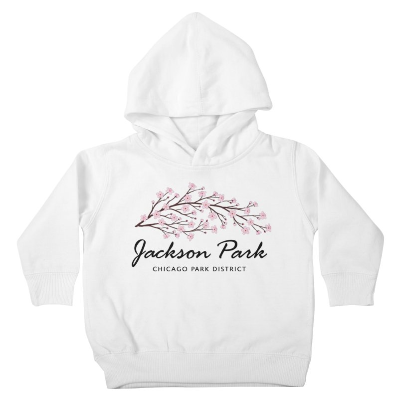 Jackson Park Cherry Blossoms Kids Toddler Pullover Hoody by chicago park district's Artist Shop