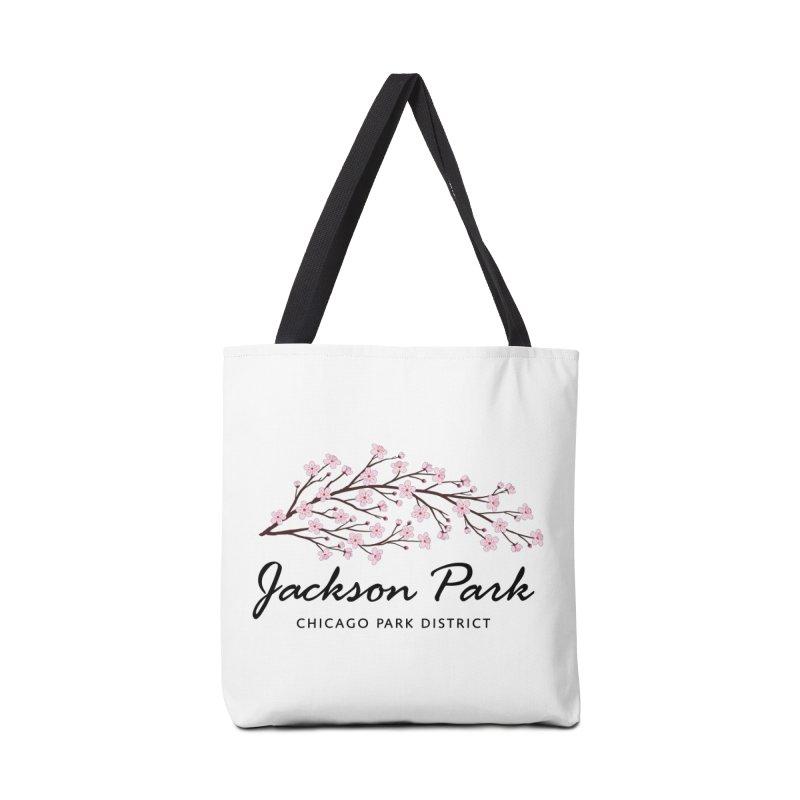Jackson Park Cherry Blossoms Accessories Tote Bag Bag by chicago park district's Artist Shop
