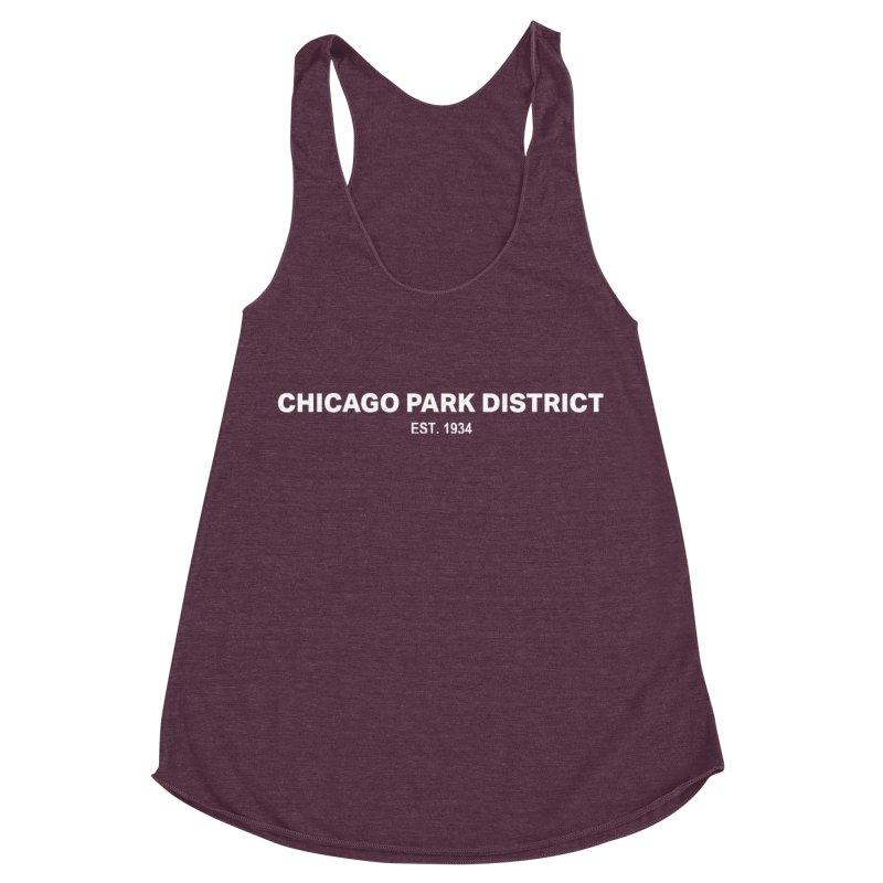 Chicago Park District Established Women's Racerback Triblend Tank by chicago park district's Artist Shop