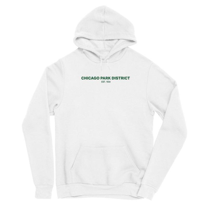 Chicago Park District Established - Green Women's Pullover Hoody by chicago park district's Artist Shop