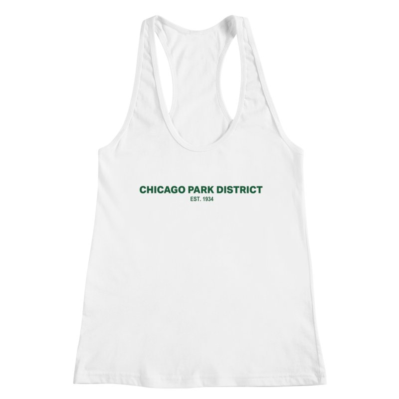 Chicago Park District Established - Green Women's Tank by chicago park district's Artist Shop